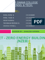 Net Zero energy building ppt