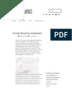 WATERPROOFING ROOFS.pdf