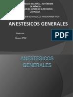 ANESTESICOS-GENERALES