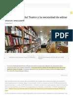 El Día Mundial Del Teatro y La Necesidad de Editar Textos Teatrales Temas-páginas-eliminadas