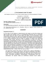 Namit Sharma vs Union of India UOI 13092012 SCs120635COM294177