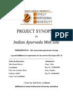 Indian Ayurveda Web Site.docx