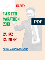 FM & ECO Marathon Revision By CA Rahul Garg Sir.pdf