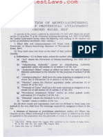 Prevention of Money-laundering (Issuance of Provisional Attachment Order) Rules, 2013