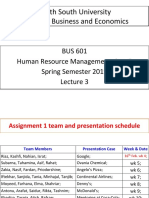 BUS 601-5 HRM Lecture 3 Handout