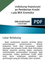 Sistem Pendukung Keputusan Kelayakan Pemberian Kredit Pada BKK