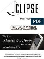Eclipse 180 User Manual