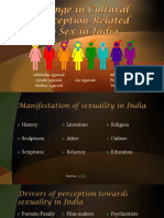 Change in Cultural Perception Related to Sex in India