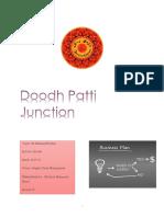 Doodh Patti Junction Business Plan + lean canvas