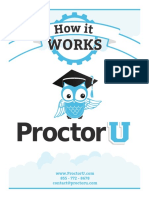 ProctorU Test-Taker Detailed Service Description