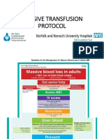 Massive Transfusion  British