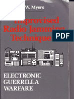 Lawrence W. Myers - Improvised Radio Jamming Techniques_ Electronic Guerrilla Warfare-Paladin Press (1989)
