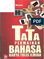 Tata Permainan Bahasa Karya Tulis Ilmiah