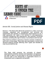 Basic Rights of Workers Under the Labor Code