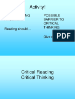 L9 - Critical Reading and Thinking (1)