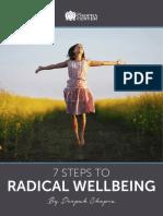 Chopra, 7 steps to wellbeing