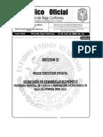 Programa Especial de Ciencia e Innovacion Tecnologica de Baja California