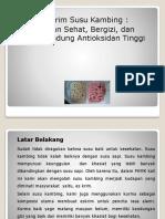 Power Point PKMK es krim susu kambing (2).ppt