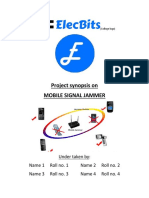 Elecbits Mobile Signal Jammer Synopsis