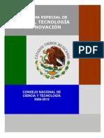 Programa Especial de Ciencia Tecnologia e Innovacion Tecnológica 2008-2012