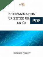 Programmation orienté objet en C#