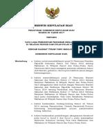 PERGUB Kepri No. 26 Tahun 2017 Tentang Tata Cara Penerbitan Perizinan Reklamasi