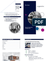 COGNESIVE Brochure - MEP Contracting