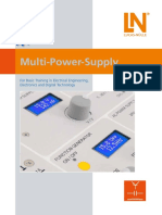 Multi Power Supply Flyer