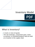 Inventory Model