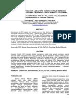 Produksi Biofuel Dari Limbah CPO