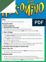 Summary Rules Pikopiko Extrapiko