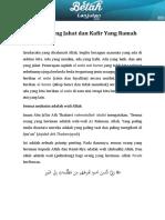 Ziyadah 10 - Muslim Yang Jahat Dan Kafir Yang Ramah
