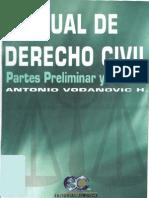 Manual de Derecho Civil - Volumen i - Antonio Vodanovic