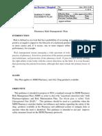 Pharmacy Risk Management  Plan.docx