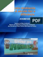 Apresentação Do Projeto Ambienta Rio a Escola Faz a Diferença
