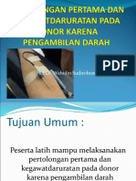 Reaksi Post Donor Darah