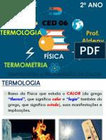 AULA 1 - 2º ANO - Temperatura e Transm de Calor