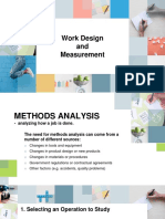 Work Design and Measurement