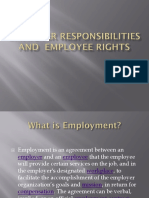 USTEthicsEmployer Responsibilities and Employee Rights