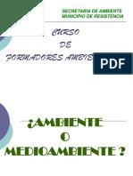 JORNADA FORMADORES AMBIENTALES