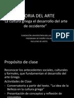 05. Clase 05 La Cultura Griega El Desarrollo Del Arte de Occidente