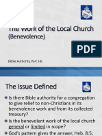 14_Bible Authority_Work of Local Church_Benevolence.ppsx