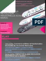 Le Commerce Exterieur Et La Revolution Industrielle 4.0 Au Maroc