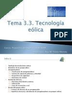 Tecnologías Eólica