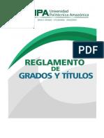 REGLAMENTO DE GRADOS Y TÍTULOS UPA - actualizado 14 enero 2019.docx
