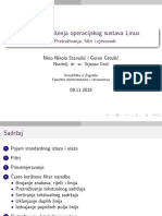LINUX 03 Pretrazivanja Filtri Cjevovodi