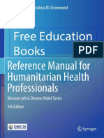David a. Bradt, Christina M. Drummond - Reference Manual for Humanitarian Health Professionals-Springer International Publishing (2019)