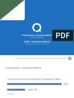 """Presentazione Giovanni Diamanti_Incontro """"Immigrazione e processi d'integrazione"""""""