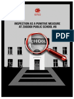 ISFED Special Report on Inspection of Zugdidi School #6 - Ia Kerzaia's Case