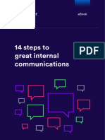 14 Steps to Great Internal Communications Interact Software